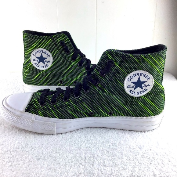 Converse Chuck Taylor II - Volt Green M/8.5 W/10.5